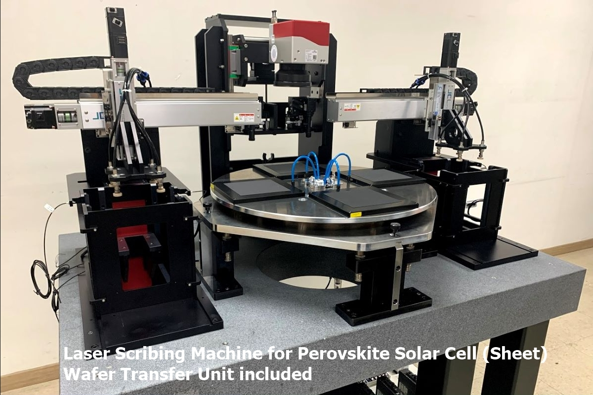 Read more about the article Laser Scribing Machine for Perovskite Solar Cell (Sheet) Wafer Transfer Unit included